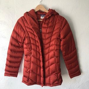 Patagonia Hooded Down Puffer Coat